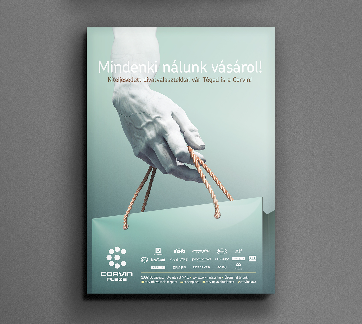 c53da22fab Campaign to introduce new fashion brands in a hungarian shopping mall